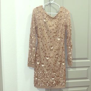 Lulus sequin dress